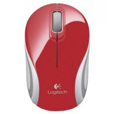 Мышь Logitech Mini M187 red (910-002737) (910-002737)Мыши Logitech<br>wireless USB<br>
