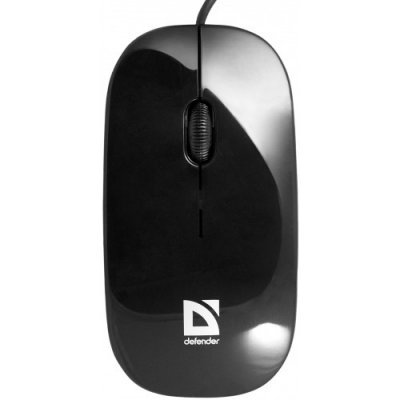 Мышь Defender NetSprinter 440BO черный-оранжевый (52444)Мыши Defender<br>SB 2кн+1кл-кн, оптика, 1000 dpi<br>