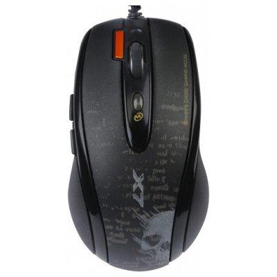 Мышь A4Tech F5 black V-Track Gaming USB (F5) цена и фото