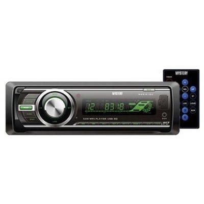 Автомагнитола Mystery MAR-818U (MAR-818U)Автомагнитолы Mystery<br>автомагнитола 1 DIN<br>воспроизведение MP3<br>макс. мощность 4 x 50 Вт<br>воспроизведение с USB-накопителя<br>аудиовход на передней панели<br>радиоприемник <br>поддержка карт памяти SD<br>