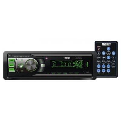 Автомагнитола Mystery MAR-828U (MAR-828U)Автомагнитолы Mystery<br>автомагнитола 1 DIN<br>воспроизведение MP3<br>макс. мощность 4 x 50 Вт<br>воспроизведение с USB-накопителя<br>аудиовход на передней панели<br>радиоприемник <br>поддержка карт памяти SD<br>