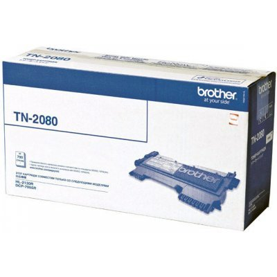 Картридж (TN2080) Brother TN-2080 (TN2080) картридж для принтера brother tn 2080 black
