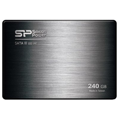 Внешний жесткий диск SSD Silicon Power SATA-III 240Gb Velox series V60 2.5 w490Mb/s (SP240GBSS3V60S25)Накопители SSD Silicon Power <br>SSD Silicon Power Original SATA-III 240Gb Velox series V60 2.5 w490Mb/s<br>