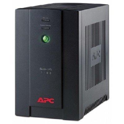 Источник бесперебойного питания APC Back-UPS 1100VA with AVR, Schuko Outlets for Russia, 230V (BX1100CI-RS)Источники бесперебойного питания APC<br>APC Back-UPS RS, 1100VA/660W<br>