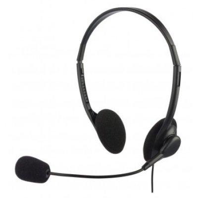 все цены на  Компьютерная гарнитура Oklick HS-M143V черный (HS-M143VB)  онлайн