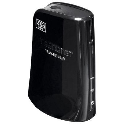 Wi-Fi адаптер TRENDnet TEW-684UB (TEW-684UB)Адаптеры Wi-Fi TRENDnet<br>стандарта 802.11 Dual Band N 450 Мбит/с<br>