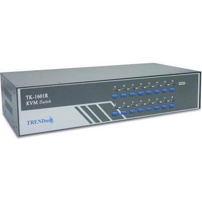 KVM переключатель Trendnet TK-1601R (TK-1601R) kvm переключатель trendnet tk 408k tk 408k