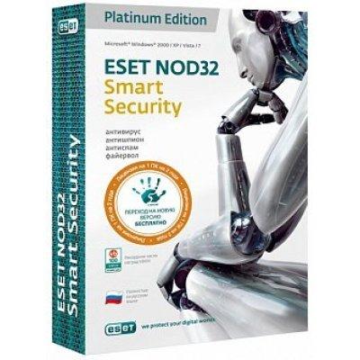 Антивирус NOD32 Smart Security + Bonus + расширенный функционал - универсальная лицензия на 1 год на 3ПК или продление на 20 месяцев (NOD32-ESS-1220(BOX)-1-1)Антивирусные программы для дома ESET<br><br>