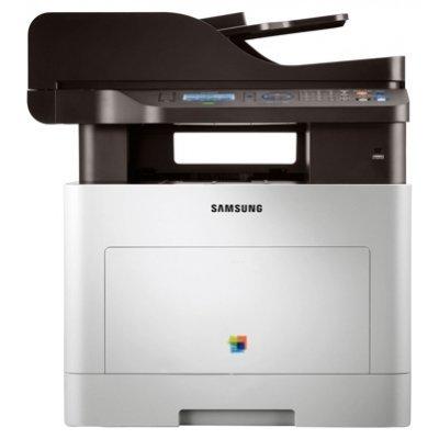 Цветное лазерное МФУ Samsung CLX-6260FR (CLX-6260FR/XEV)Цветные лазерные МФУ Samsung<br>CLX-6260FR Samsung Лазерный цветной принтер/сканер./копир/факс<br>