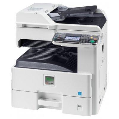Лазерное МФУ Kyocera FS-6525MFP (1102MX3NL0)Монохромные лазерные МФУ Kyocera<br>Лазерный копир-принтер-сканер Kyocera FS-6525MFP (A3, 25 ppm A4/12 ppm A3, 25-400%, 1024 Mb, USB 2.0, Network, цв. скане<br>
