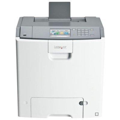 Лазерный принтер Lexmark C748de (41H0070)Цветные лазерные принтеры Lexmark<br>Цветной, A4, 1200*1200dpi, 33стр/м1ст(22стр2ст), дуплекс, 512MБ, Прц 800МГц<br>