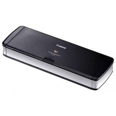 Сканер Canon P-215 (9705B003)Сканеры Canon<br>Canon P-215   (Цветной, двухсторонний, 30 стр./мин, ADF 20, USB 2.0, A4, без блока питания)<br>