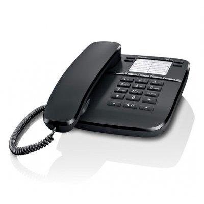 Проводной телефон Siemens Gigaset DA410 черный (S30054-S6529-S301)
