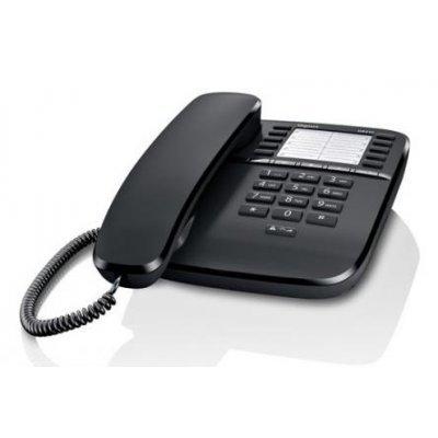 Проводной телефон Siemens Gigaset DA510 черный (S30054-S6530-S301)Проводные телефоны Siemens<br>Siemens Gigaset DA510 (черный)<br>