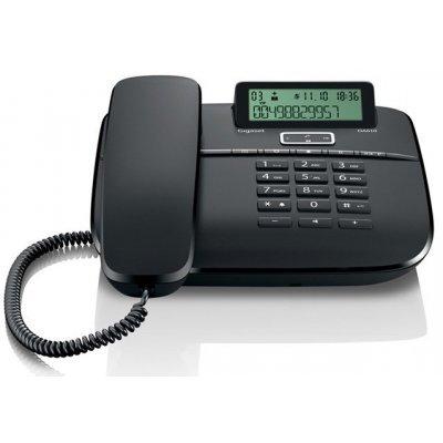 Проводной телефон Siemens Gigaset DA610 черный (S30350-S212-S301)