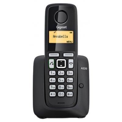 Радиотелефон Siemens Gigaset A220 черный (S30852-H2411-S301)