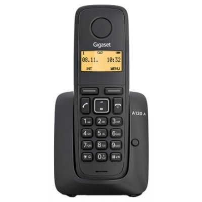 Радиотелефон Siemens Gigaset A120 AM (S30852-H2421-S301) siemens lc 91 ba 582 ix
