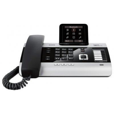 IP-телефон Siemens Gigaset DX800A (S30853-H3100-S301)VoIP-телефоны Gigaset<br>Siemens Gigaset DX800A (3 автоответчика, до 4-х разговоров одновременно, черный)<br>