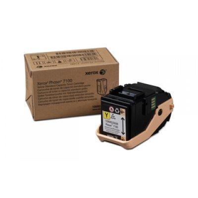 Тонер-Картридж Phaser 7100 Желтый (4500 images) (106R02608)Тонер-картриджи для лазерных аппаратов Xerox<br><br>