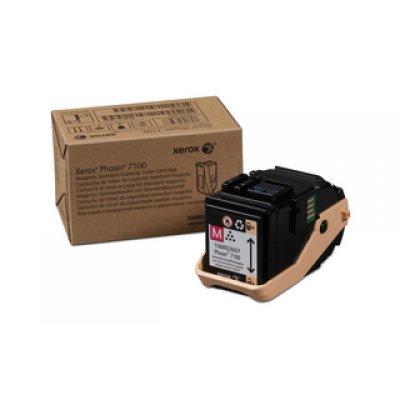 Тонер-Картридж Phaser 7100 Пурпурный повышенной емкости (9 000 images) (106R02610)Тонер-картриджи для лазерных аппаратов Xerox<br><br>