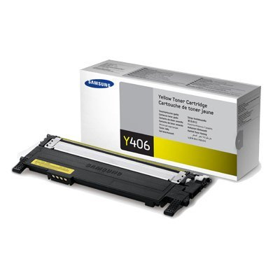 Тонер-картридж желтый Samsung CLT-Y406S/SEE для CLP-360/365/365W (CLT-Y406S/SEE)