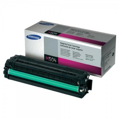 Тонер-Картридж пурпурный Samsung CLT-M504S/SEE для CLP-415N/415NW/CLX-4195FN (1800 стр) (CLT-M504S/SEE)Тонер-картриджи для лазерных аппаратов Samsung<br>(Описание)<br>