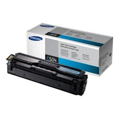 Тонер-Картридж голубой Samsung CLT-C504S/SEE для CLP-415N/415NW/CLX-4195FN (1000 стр) (CLT-C504S/SEE)Тонер-картриджи для лазерных аппаратов Samsung<br>(Описание)<br>