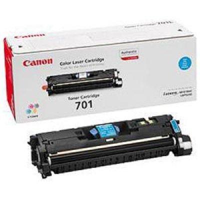 Картридж (9290A003) Canon 701L (9290A003)Тонер-картриджи для лазерных аппаратов Canon<br>Картридж CANON 701L ( LBP-5200/MF8180)  пониженной емкости (2000 стр) синий<br>