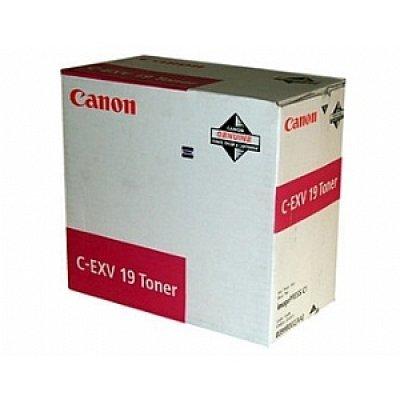 Тонер (0399B002) Canon C-EXV19 красный (0399B002)Тонеры для лазерных аппаратов Canon<br>Тонер CANON C-EXV 19 TONER M EUR красный<br>