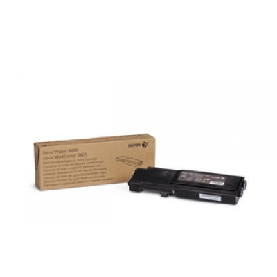 тонер картридж xerox 106r02233 для phaser 6600 workcentre 6605 голубой 6000стр Тонер-картридж XEROX Phaser 6600/WC 6605 Черный (3 000 стр.) (106R02252)