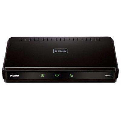 Wi-Fi роутер D-Link DAP-1533/RU/A1A (DAP-1533/RU/A1A)Wi-Fi роутеры D-Link<br>Dual-Band 802.11n Wireless N450 MediaBridge/Access Point<br>