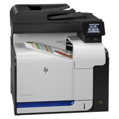 МФУ HP LaserJet Pro 500 color MFP M570dn (CZ271A)Цветные лазерные МФУ HP<br>p/s/c/f,A4,600dpi,30(30)ppm,256Mb,2 trays 100+250,Duplex, ADF 50 sheets,LCD,USB/ext.USB/LAN)<br>