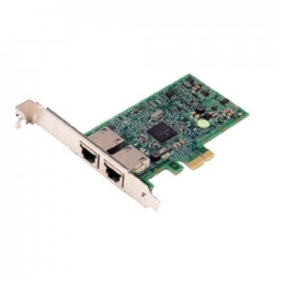 Сетевая карта Broadcom 5720 DP 1Gb, Low Profile PCI-E (540-11136) сетевая карта dell 540 bbhf intel ethernet i350 1gb 4p daughter r1xfc