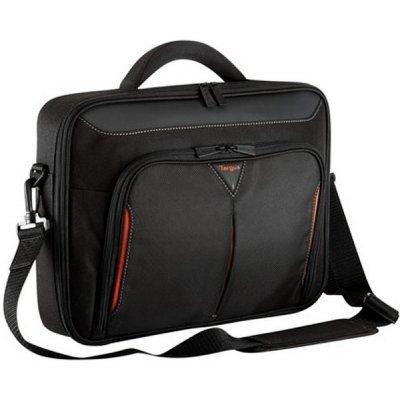 Сумка для ноутбука Targus CN418EU-50 black\red (CN418EU-50)Сумки для ноутбуков Targus<br>Сумка для ноутбука Targus CN418EU-50 Classic+ 17-19 черный и красный нейлон<br>