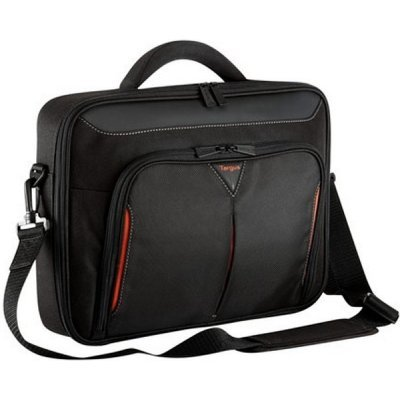 все цены на  Сумка для ноутбука Targus CN418EU-50 black\red (CN418EU-50)  онлайн