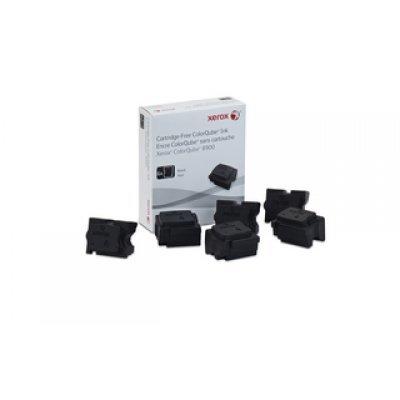 Набор твердочернильных брикетов ColorQube 8900S Черный 6шт (18 000 отпечатков) (108R01025)Твердочернильные брикет Xerox<br>(6x3K) ColorQube 8900<br>