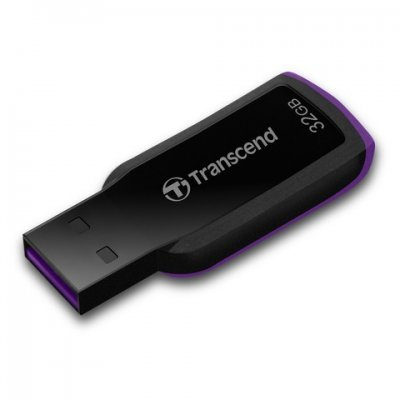 USB накопитель 32Gb Transcend JetFlash 360 черный (TS32GJF360)USB накопители Transcend<br>Флеш Диск Transcend 32Gb JetFlash 360 черный<br>