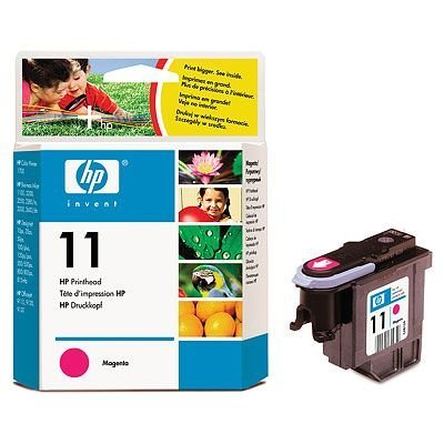 Печатающая головка HP № 11 (C4812A) для DJ 2200/ 2250 розовая (C4812A) hp c4811a 11 printhead cyan для dj 2200 2250