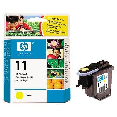 Печатающая головка HP № 11 (C4813A) для DJ 2200/ 2250, желтая (C4813A) hp c4811a 11 printhead cyan для dj 2200 2250