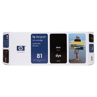 Картридж HP № 81(C4930A) для DesignJet 5000/5000ps черный (C4930A)Картриджи для струйных аппаратов HP<br><br>
