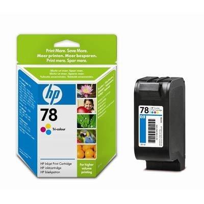 Картридж HP № 78 (C6578AE) для DJ 940c/970/P1000/P1100 цветной (C6578A/AE) цена 2017