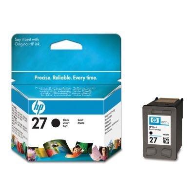Картридж HP № 27 (C8727AE)  для DJ3325/3420 черный (C8727AE)Картриджи для струйных аппаратов HP<br>подходит к deskjet 3320/3325/3420/3425<br>