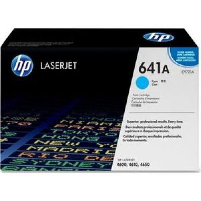 Фото Картридж HP (C9721A)  для HP LaserJet Color LJ4600, голубой