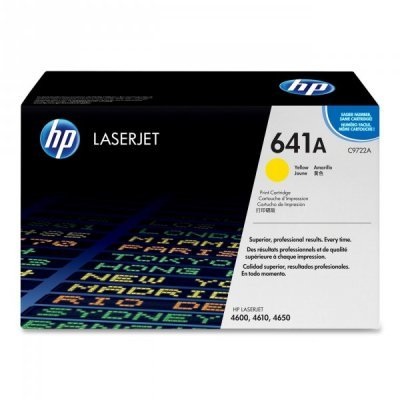 Фото Картридж HP (C9722A) для HP LaserJet Color LJ4600 , желтый