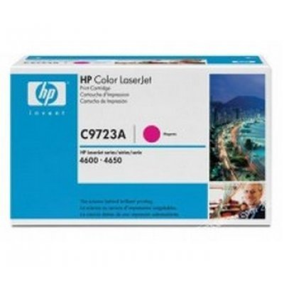 Картридж HP (C9723A) для HP LaserJet Color LJ4600, пурпурный (C9723A) картридж t2 для hp tc h85a laserjet p1102 1102w pro m1132 m1212nf m1214nfh canon i sensys lbp6000 cartrige 725 1600 стр с чипом
