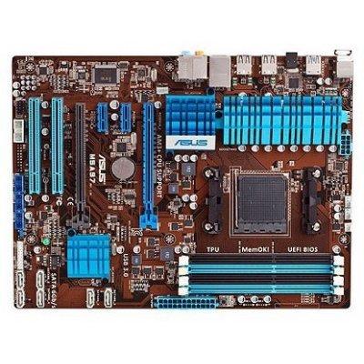 Материнская плата Asus M5A97 R2.0 Soc-AM3 (90-MIBJK0-G0EAY0MZ)Материнские платы ПК ASUS<br>Soc-AM3 AMD970 DDR3 ATX AC 97 8ch GbLAN SATA3 RAID<br>