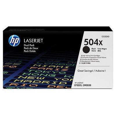 Двойная упаковка картриджа HP (CE250XD) для LJ 3525/3530 Black (CE250XD)Тонер-картриджи для лазерных аппаратов HP<br>Картридж HP двойной для CLJ 3525/3530, Black<br>