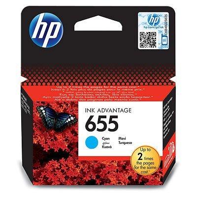 Картридж HP №655 (CZ110AE) для DJ IA 3525/5525/4515/4525 голубой (CZ110AE)Картриджи для струйных аппаратов HP<br>HP картридж №655 голубой для DJ IA 3525/5525/4515/4525 (600 стр)<br>