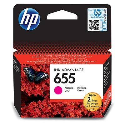 Картридж HP №655 (CZ111AE) для DJ IA 3525/5525/4515/4525 пурпурный (CZ111AE)Картриджи для струйных аппаратов HP<br>HP картридж №655 пурпурный для DJ IA 3525/5525/4515/4525 (600 стр)<br>