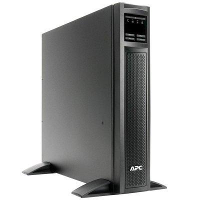 ИБП APC Smart-UPS X 1000VA/800W (SMX1000I)Аккумуляторные батареи для ИБП APC<br>APC Smart-UPS X 1000VA/800W, Tower/RM 2U, Ext. Runtime, Line-Interactive, LCD, Out: 220-240V 8xC13 (2-gr. switched) , SmartSlot, USB, COM, EPO, HS User Replaceable Bat, Black, 3(2) y.war.<br>